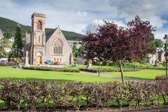 Парк в Fort William, Шотландии стоковые изображения rf