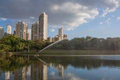Парк в Goiania Стоковые Изображения RF