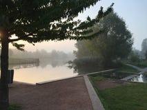 Парк в Utrecht Стоковая Фотография RF