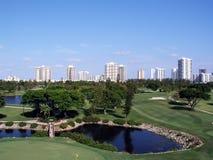 парк гольфа Стоковые Изображения
