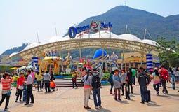 Парк Гонконг океана Стоковое Изображение