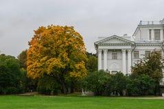 Парк города осенью Стоковые Изображения RF