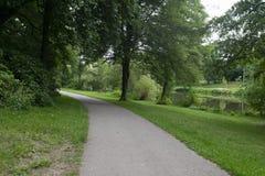 Парк города Furpach, Германия стоковая фотография rf