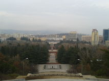 Парк города на Тбилиси, Georgia стоковое изображение