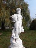 Парк города сбора девушки Стоковое Изображение RF