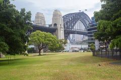 Парк города Сиднея стоковое фото