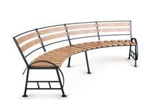 Парк города стенда на белой предпосылке 3d представляют цилиндры image бесплатная иллюстрация
