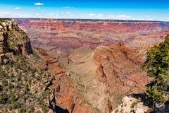 Парк гранд-каньона южный в деревне гранд-каньона, Аризоне Стоковая Фотография