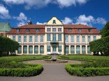парк дворца opatow oliwa стоковое изображение rf