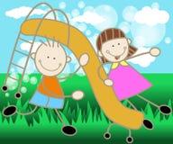 парк детей Стоковые Фото