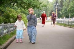 парк детей Стоковая Фотография RF