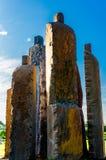 Парк Джайпур каменных статуй centeral Стоковые Фото
