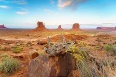 Парк долины памятника племенной, Аризона, США Стоковые Фотографии RF