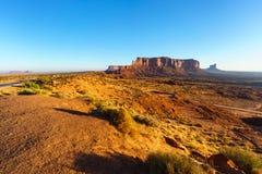 Парк долины памятника племенной, Аризона, США Стоковое Изображение RF