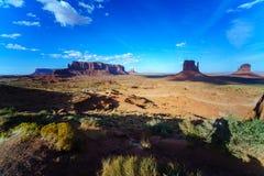 Парк долины памятника племенной, Аризона, США Стоковые Изображения