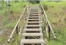 Парк лестницы в Таиланде Стоковые Изображения