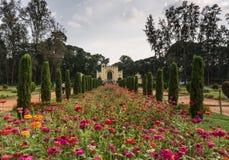Парк летнего дворца султана Tipu, Майсура, Индии Стоковое Изображение