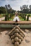Парк летнего дворца султана Tipu, Майсура, Индии Стоковые Изображения