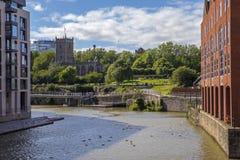Парк замка в Бристоле стоковые фотографии rf