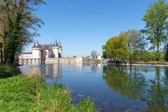 Парк замка Луары sur Sully стоковые фотографии rf