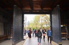 Парк замка Осака Стоковое фото RF