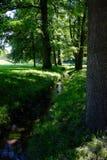 Парк замка Стоковые Фото