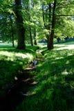 Парк замка Стоковые Изображения