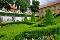 Парк замока Стоковое Фото