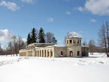 Парк зимы стоковые изображения rf