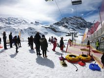 Парк игры Titlis, Швейцария Стоковые Изображения