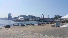 Парк Йосу внешний стоковое изображение rf