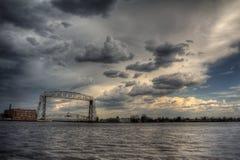 Парк канала популярное туристское назначение в Дулуте, Минесоте на Lake Superior стоковые изображения