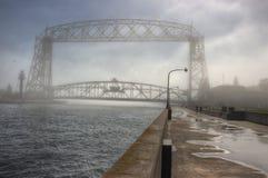Парк канала популярное туристское назначение в Дулуте, Минесоте на Lake Superior стоковые фото