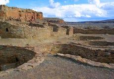 Парк каньона Chaco национальный исторический стоковое фото rf
