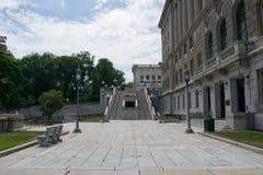 Парк капитолия в Harrisburg, Пенсильвании Стоковая Фотография