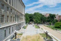 Парк капитолия в Harrisburg, Пенсильвании Стоковое Изображение RF