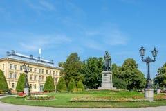 Парк Карл Johans в Norrkoping, Швеции Стоковые Фотографии RF
