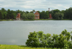 Парк Катрина, Tsarskoye Selo Стоковые Фотографии RF