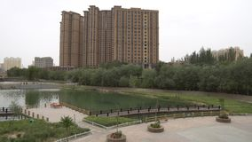 Парк Китая Хотана акции видеоматериалы