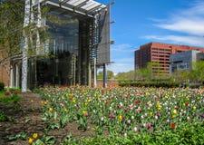 Парк колокола свободы в Филадельфии стоковые изображения