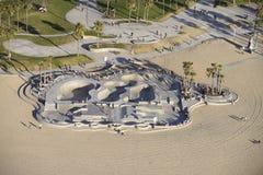 Парк конька Венеции Стоковая Фотография RF