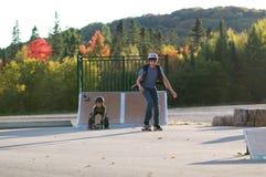 Парк конька Стоковые Фото