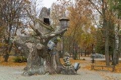 Парк культуры и остатков Przemysl etnomir 15 21 2010 детей центра calcuttain bike зоны августовских культурное вниз воспитательно стоковые фото