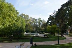 Парк Лиссабона, Лиссабона, старого Лиссабона, Santa Clara, на деревне Ameixoeira, Лиссабон, Португалия Стоковое фото RF