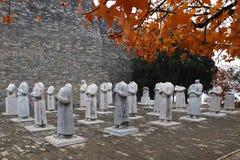 Парк мавзолея императора Xian исторический Стоковая Фотография