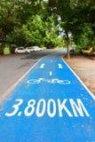 Парк майны велосипеда публично стоковое изображение rf