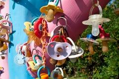 Парк международное Riccione, pacifiers дерева Стоковая Фотография