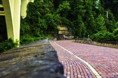 Парк моста холма Blaine стоковое изображение