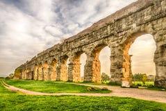 Парк мост-водоводов, Рим стоковые фотографии rf