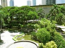 Парк мола Гринбелт, Makati, Филиппины стоковое фото